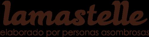 Logotipo de Hornos Lamastelle en marrón oscuro